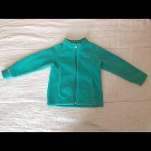 Columbia Turquoise Kids Coat